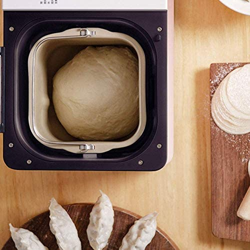 RVTYR Regal Brot-Maschine Compact Schnell Brotmaschine Voll Geeignet Terminzeit Automatische Touch-550W LCD-Anzeige DREI Burnt Farben 22 Menüs for Küche teig Maschine