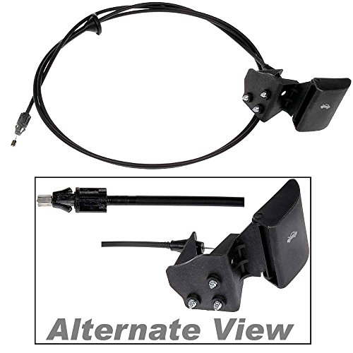 APDTY 023198 Hood Release Cable With Handle Fits 2006-2010 Jeep Commander / 2005-2010 Jeep Grand Cherokee (Replaces 55394495AB, 55394495AC, 55394495AD, 55394495AA)