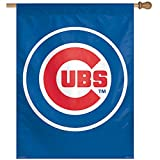 MLB Chicago Cubs 27-by-37-Inch Vertical Flag