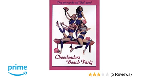 cheerleaders beach party imdb