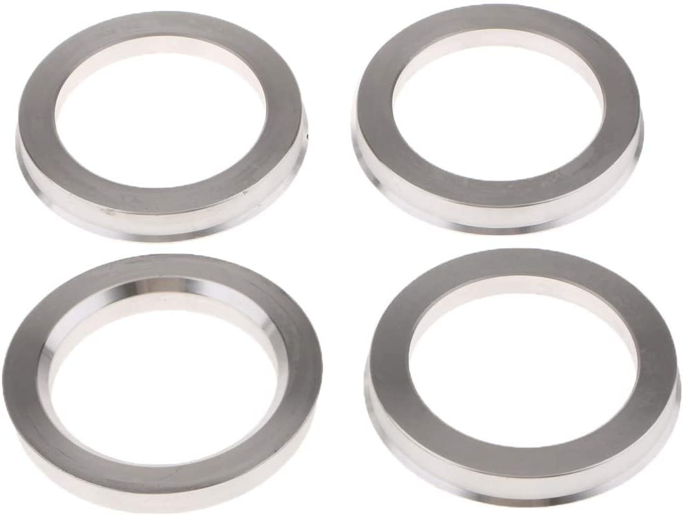 Color : Silver CMING Spigot Rings 73.1-54.1 Wheel Spacer Alloy Wheel Hub Centric Pack Of 4