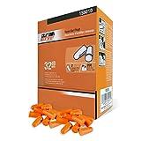 DuraDrive Disposable Pre-Shaped Foam Earplugs, NRR 32 dB, Orange, 200 Pairs/Box
