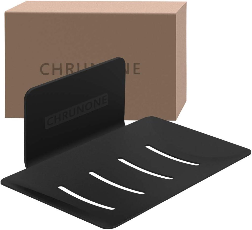 CHRUNONE Self-Adhesive Soap Phoenix Mall Great interest Dish for Aluminum H Bar Shower