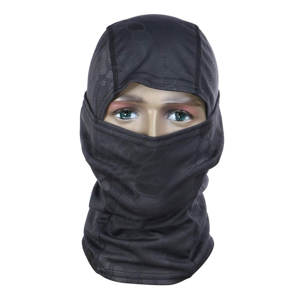 WSYHXMMask Single Hole Mask Riding Dustproof CS Field Outdoor Protection Mouth Outdoor Balaclava mask (Color : C)