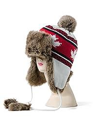hat/Winter warm ear Lei Feng cap/Northeast cap/Plus thick velvet knit wool cap