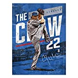 500 LEVEL Clayton Kershaw Los Angeles Baseball Wall Poster - Clayton Kershaw The Claw