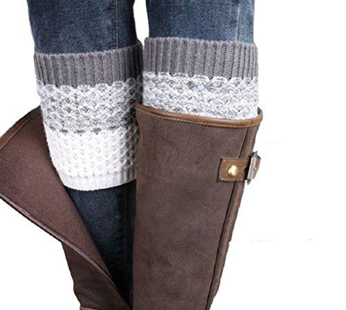 ILOVEDIY 1Paar Damen stricken Stulpen Socken