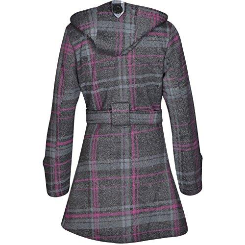 Manteau Capuche Femmes Avec Charbon Tartan Noroze Pour w0Eg5q