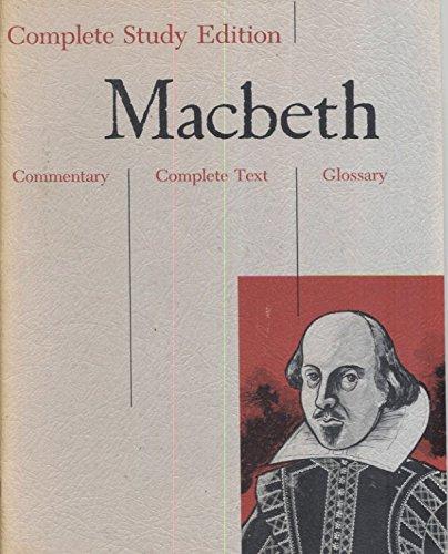Macbeth (Complete Study Edition)