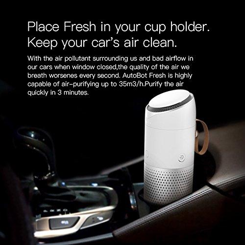 AutoBot ABF001 Car Fresh Air Purifier Vehicle Air Purifier Three Working Modes