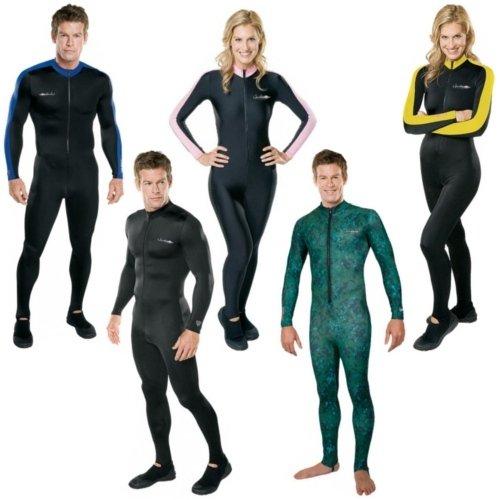(Henderson Lycra Printed Unisex Adults Jumpsuit Scuba Diving Wetsuit-Free Dive-Large)