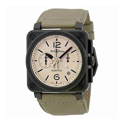 Bell-and-Ross-Aviation-Desert-Type-Chronograph-Automatic-Mens-Watch-BR03-94-DESERT-TYPE