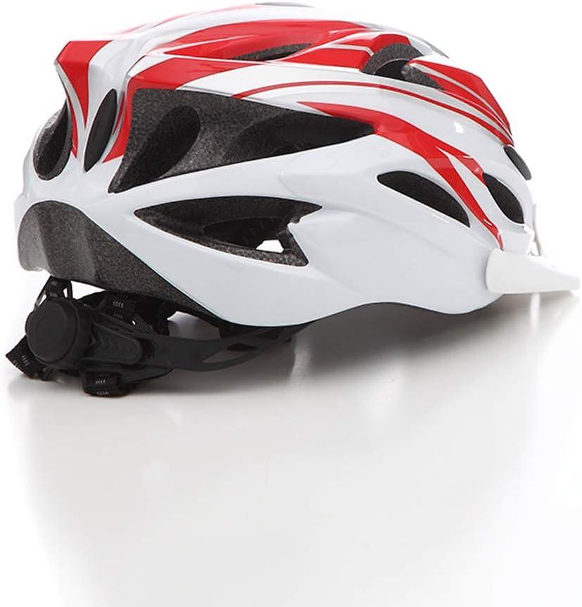 Athyior Casco Bicicleta Adulto Ciclismo Seguridad Helmet Casco Bici Ajustable 52-61cm para Ciclo patineta Scooter Patinaje Rodillo Blading Hombres Mujeres
