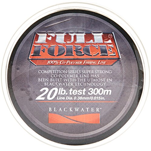 Blackwater Full Force Co-Polymer Fishing Line, 20-Pound