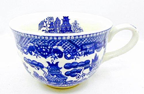 Vintage Japan 1950's Blue Willow ()