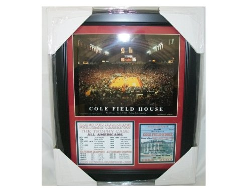 Field Framed Photomint - 11X14 FRAMED FINAL GAME COLE FIELD HOUSE MARYLAND TERPS 8x10 Photo