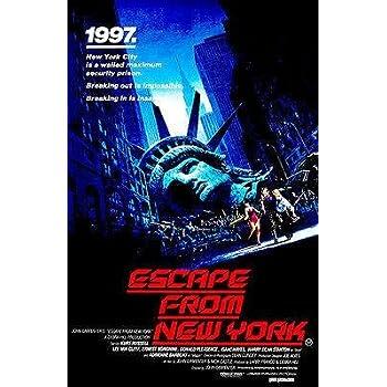 Escape From New York Poster.Amazon Com Escape From New York 1981 Movie Poster Posters Prints