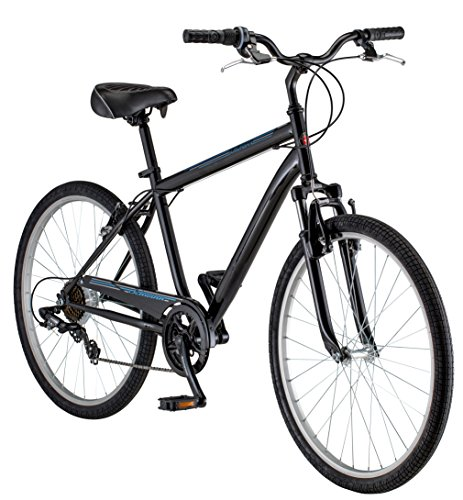 Schwinn Men's Suburban Bike, 26-Inch, Black (Bmx Linear Pull)