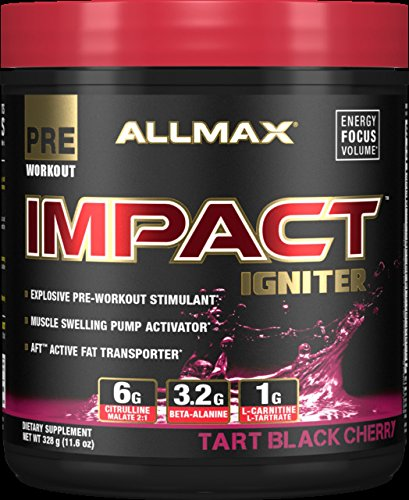 Pre Workout Muscle Igniter - Impact igniter pre-workout Tart Black Cherry