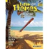 Latin Themes for Soprano Recorder (Schott Master Play-Along)