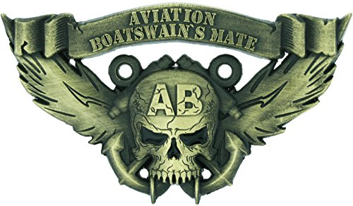 Aviation Boatswain`s Mate Skull Coin ()