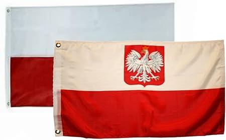 3x5 Poland flag 3/'x5/' House banner Brass Grommets premium