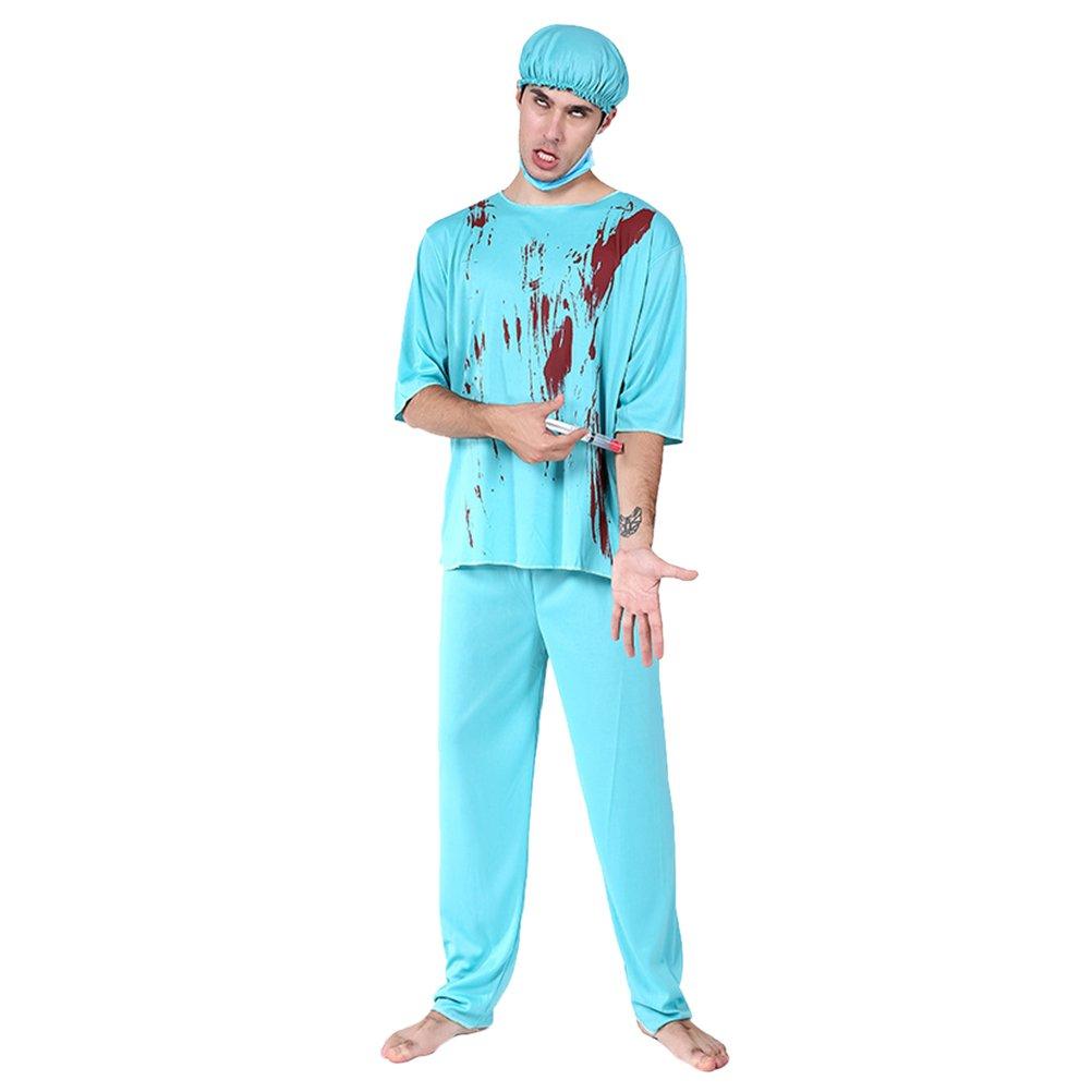 Zhhlinyuan [Halloween Kostüm Herren Fashion Maskenspiel Halloween Costume für Erwachsener Mens Damen Urlaub Cosplay Partei Outfit, Multi-Style (E-G) B07FJNBZGG Kostüme für Erwachsene Einzigartig   Louis, ausführlich