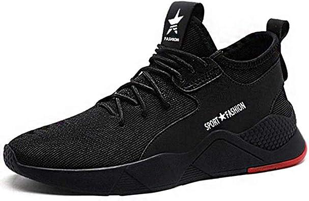 Superwl Zapatos Seguridad Hombre Mujer Ligeros S3 Calzado de Seguridad Antideslizante Zapatos de Trabajo Punta de Acero Protección Zapatos de Trabajo 36-46: Amazon.es: Zapatos y complementos