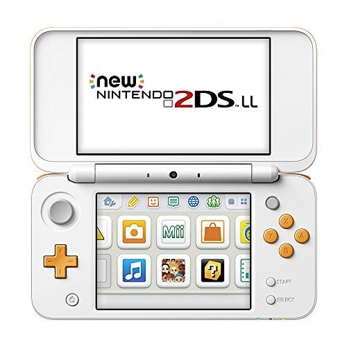 Newニンテンドー2DS LL本体 ホワイト×オレンジの商品画像