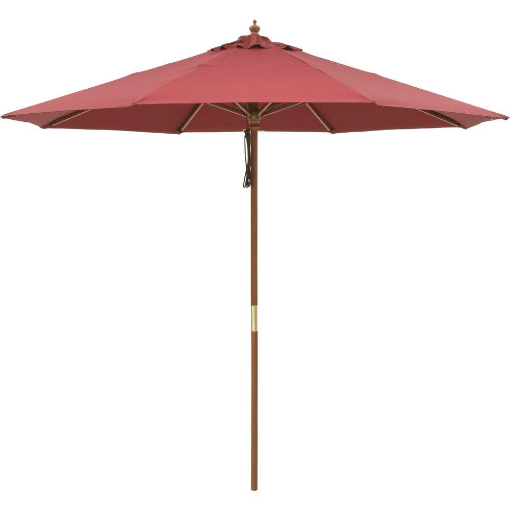 径210cm(ウッド支柱ガーデンパラソル) G46908(サイズはありません ア:エンジ) B079BHMHGX ア:エンジ ア:エンジ