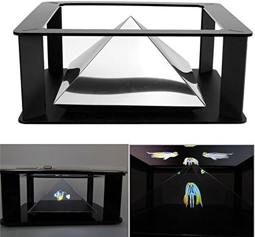Holográfica Tablet PC 3d holográfica Pirámide de proyección ...