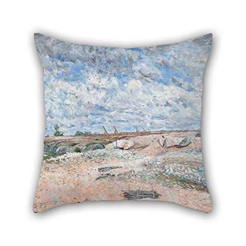 [20 X 20 Inches / 50 By 50 Cm Oil Painting Carl Fredrik Hill - Landscape With Drifting Clouds Cushion Cases,each Side Is Fit For Divan,chair,gril] (Sushi Roll Halloween Costume)