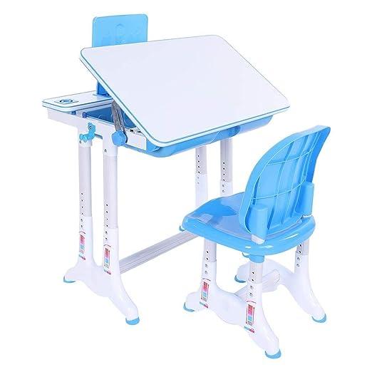Juego de mesa y silla para niños, mesa de estudio y mesa de niños ...