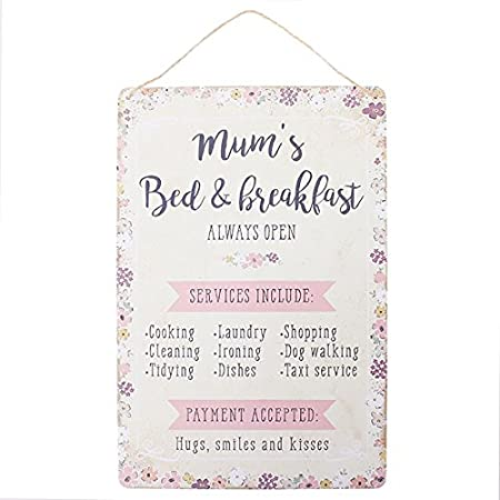 Wall plaques mums bed breakfast service hanging sign amazon wall plaques mums bed breakfast service hanging sign stopboris Choice Image