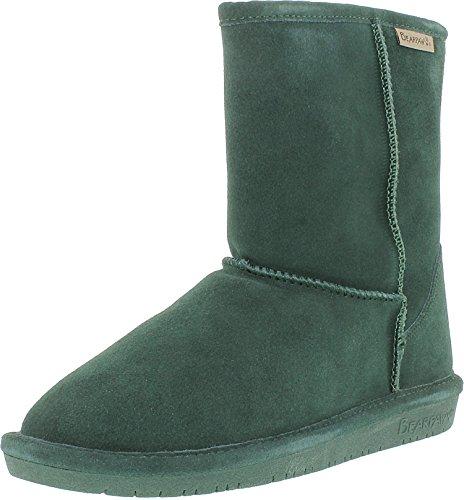 Bearpaw Women's Emma Short Boot, Emerald, 10 B(M) US