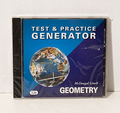 McDougal Littell High Geometry: Test and Practice Generator CD-ROM ...