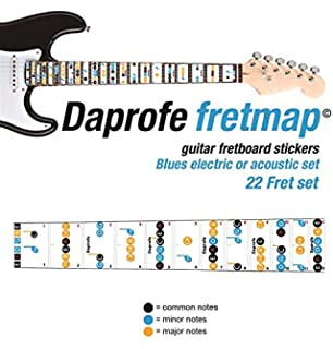 Amazon Com Ultnice Guitar Fret Stickers Note Decals Guide Label