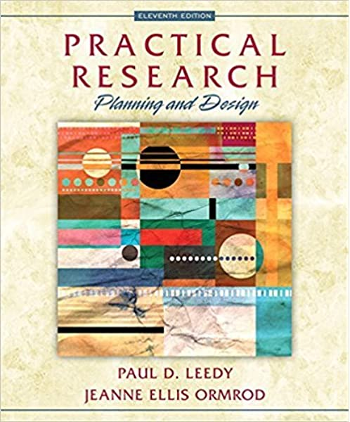 Practical Research Planning And Design Enhanced Pearson Etext Access Card 11th Edition Leedy Paul D Ormrod Jeanne Ellis 9780133747188 Amazon Com Books