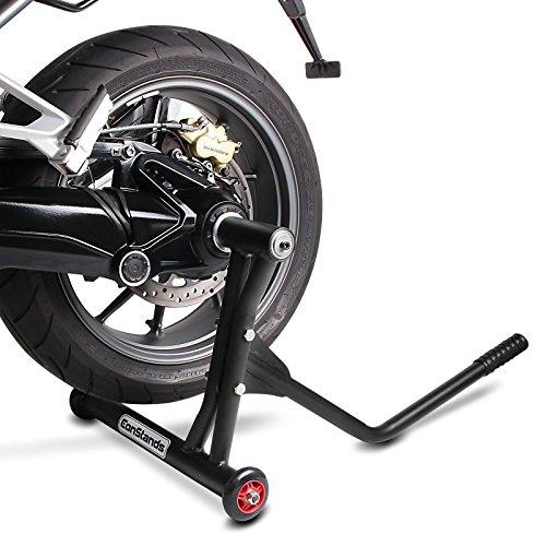 Caballete Moto Trasero Ducati Multistrada 1260// S//D-Air 18-19 ConStands Single Racing Negro Mate