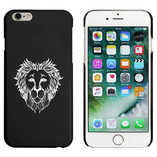 Noir 'Tête de Lion' étui / housse pour iPhone 6 & 6s (MC00018873)
