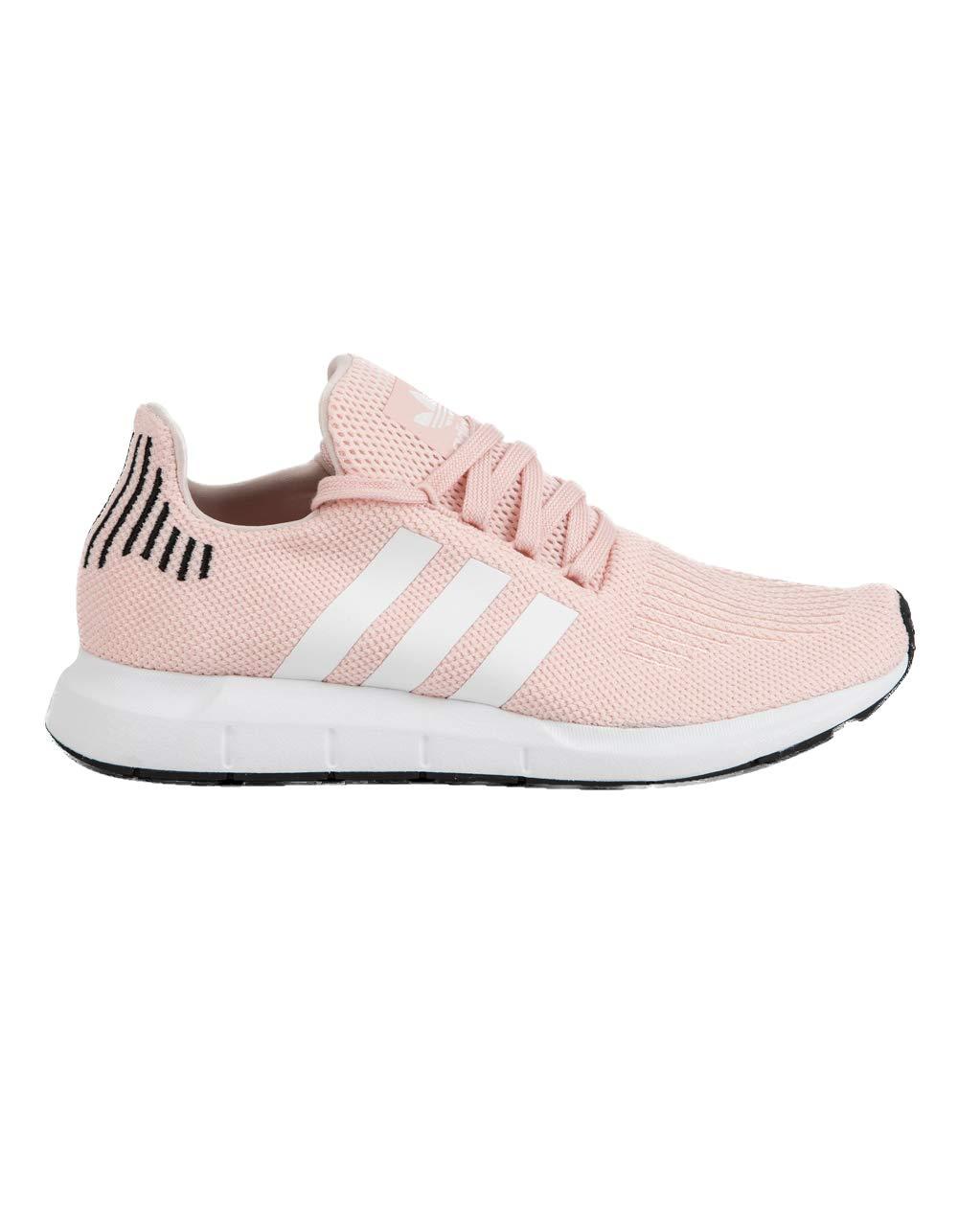 adidas Originals Women's Swift Running Shoe, ice Pink/White/Black, 9 M US