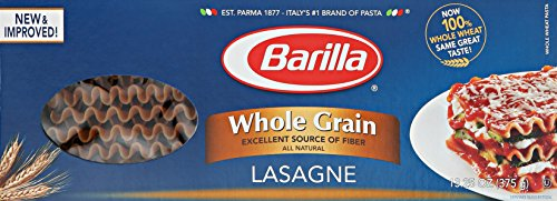 Barilla Whole Grain Pasta, Lasagne, 13.25 Ounce