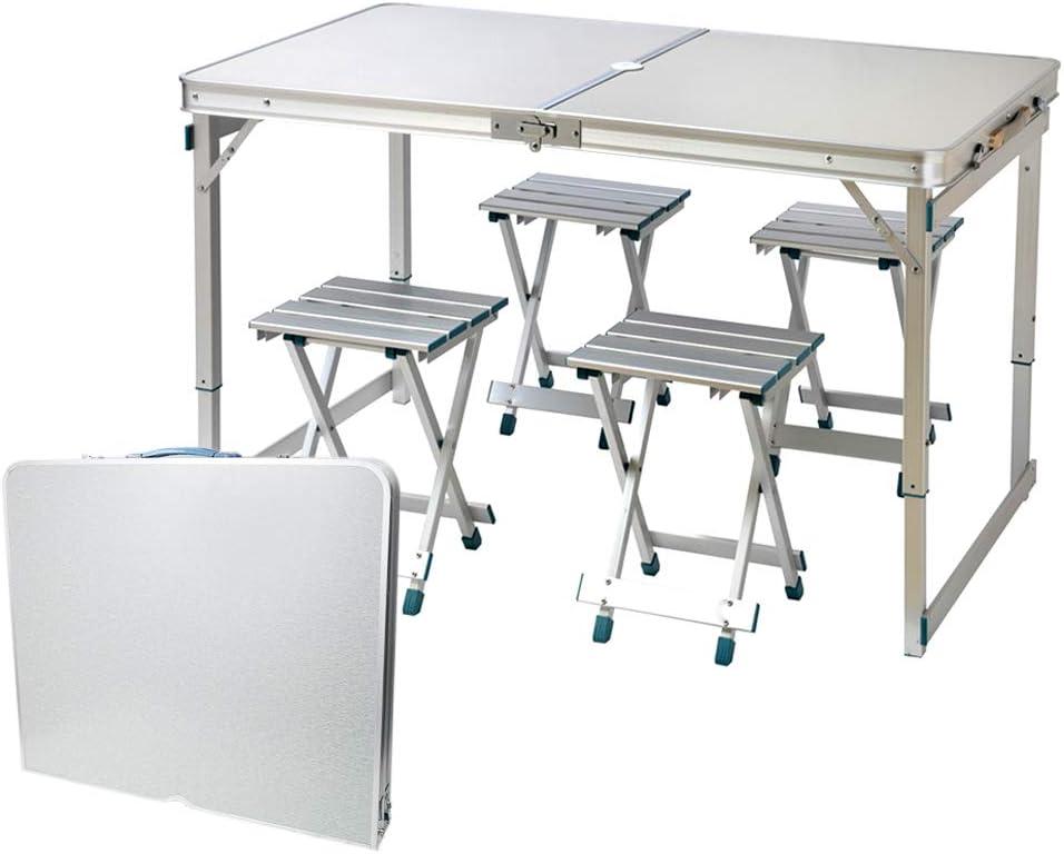 Aluminium Alloy Portable Folding Table BBQ Camping Desktop for Outdoor Picnic