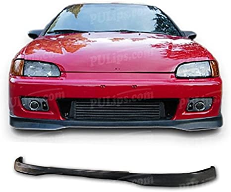 Type-R Style Front Bumper Lip For Honda Civic 1992-1995 Coupe; Hatchback PULIps HDCV922TRFAD