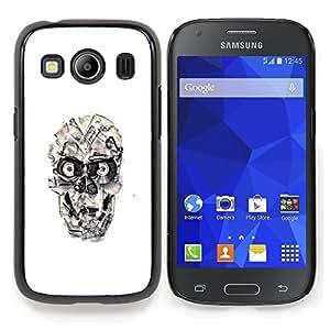 SKCASE Center / Funda Carcasa protectora - Cráneo cinta Casette;;;;;;;; - Samsung Galaxy Ace Style LTE/ G357