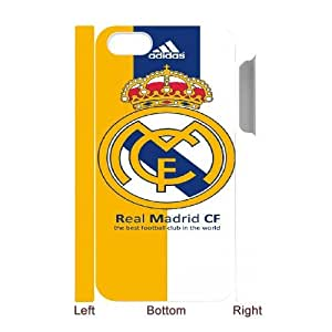 iphone 4 4S 3D Custom Cell Phone Case Real Madrid FC Logo Case Cover WWPF36530