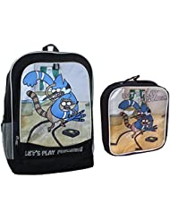 Regular Show 16 Backpack & Matching lunch tote