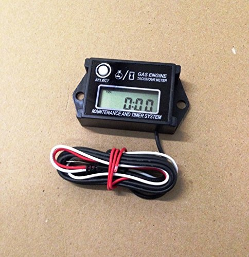 Automotive Authority LLC® Remote Control Gas Powered Car/Boat Tachometer Tach with Max RPM Recall