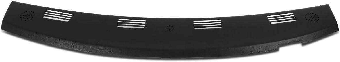 DNA MOTORING ZTL-Y-0093-BK Front Upper Dash Defrost Vent Grille Cover Overlay (Black)