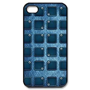 taoyix diy Denim ZLB564370 Brand New Phone Case for Iphone 4,4S, Iphone 4,4S Case